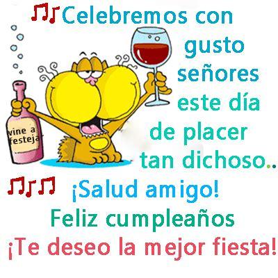 imagenes graciosas de feliz cumpleaños para niños imagen de feliz cumplea 241 os amigo te deseo la mejor fiesta
