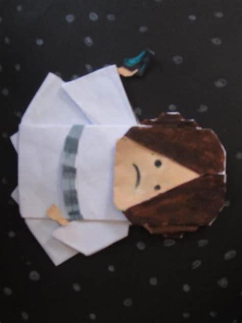Princess Leia Origami - princess leia origami yoda