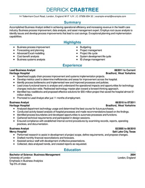 Great Resumes by Great Resume Exles Best Resume Gallery