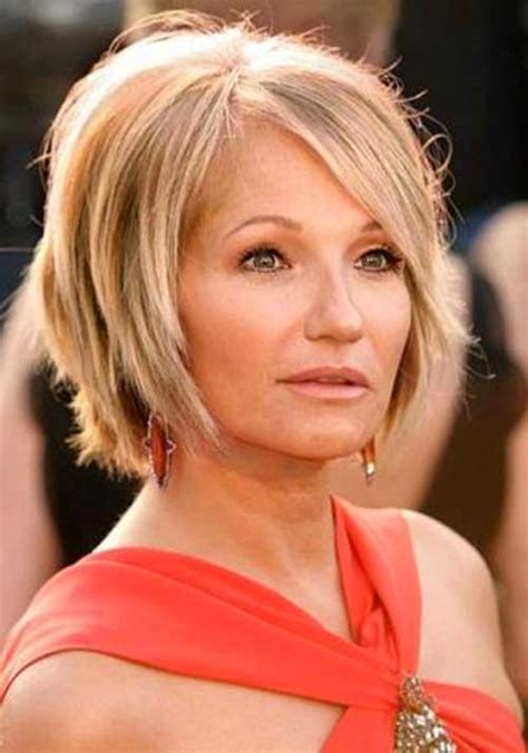 layered bob women over 50 short hair for over 50 the best short hairstyles for