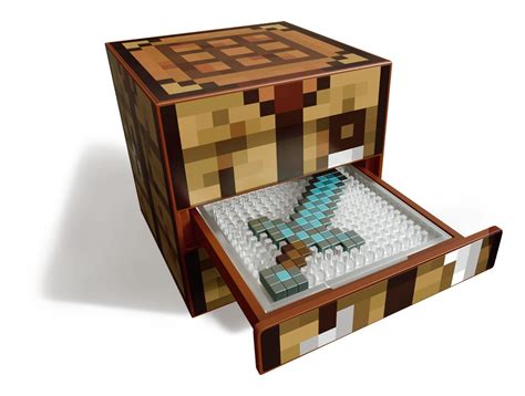 bett craften minecraft crafting table playset at mighty ape nz