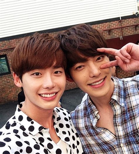 drama lee jong suk kim woo bin lee jong suk opens up about competing with best friend kim