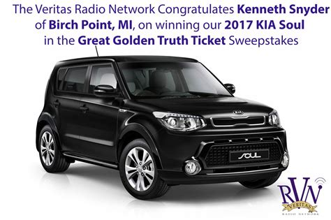 Win A Kia Soul by The Great Golden Ticket Sweepstake Win Our 2017 Kia