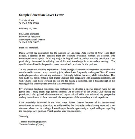 sample cover letter online english teacher eursto com