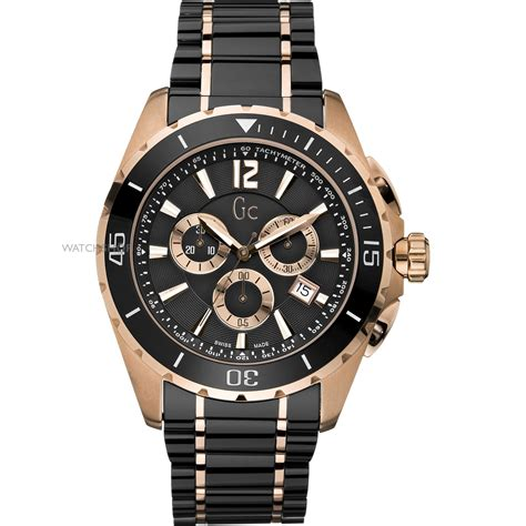 Gc Black Rosegold s gc sport class ceramic chronograph x76004g2s shop com