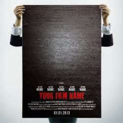 Poster Credits Template Free by How To Make Posters Filmmaker Spot