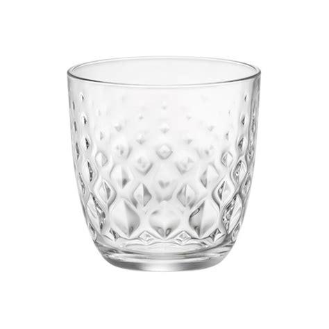 bicchieri acqua e a tavola set di bicchieri acqua glit 6 pezzi bicchiere vetro