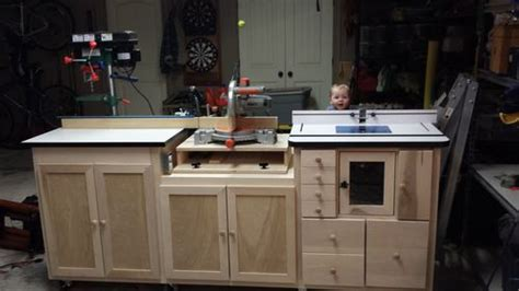 table saw router combo miter saw router table combo by swarfrat