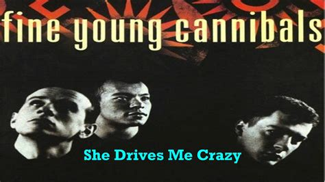 drive me crazy lyrics fine young cannibals she drives me crazy youtube