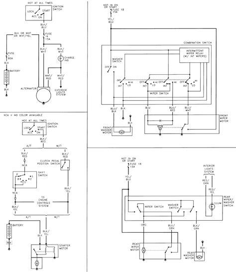 suzuki sidekick wiring diagram suzuki samurai alternator wiring diagram efcaviation