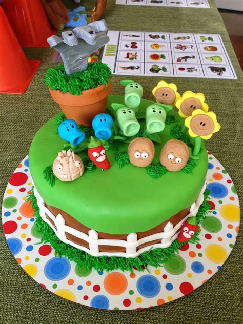 Plants Vs Zombies Birthday Decorations by Cranberry Corner Conor S Plants Vs Zombies
