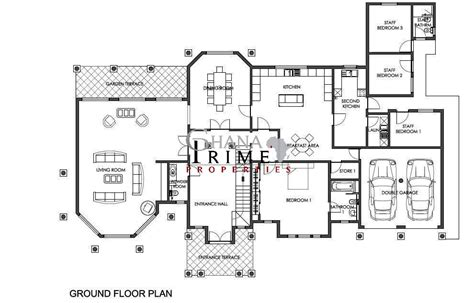 ground floor plan for home luxury ghana house plans ghana 5 bedroom luxury house for sale in trasacco valley