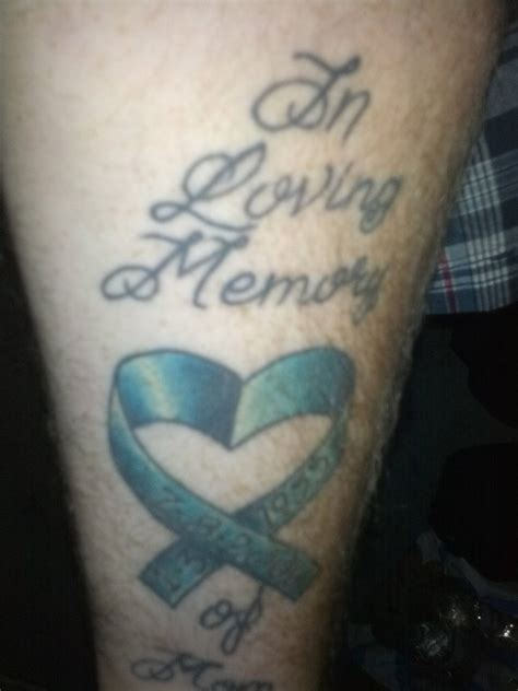 Cancer Memorial Tattoos Quotes Quotesgram Cancer Memorial Tattoos For 2
