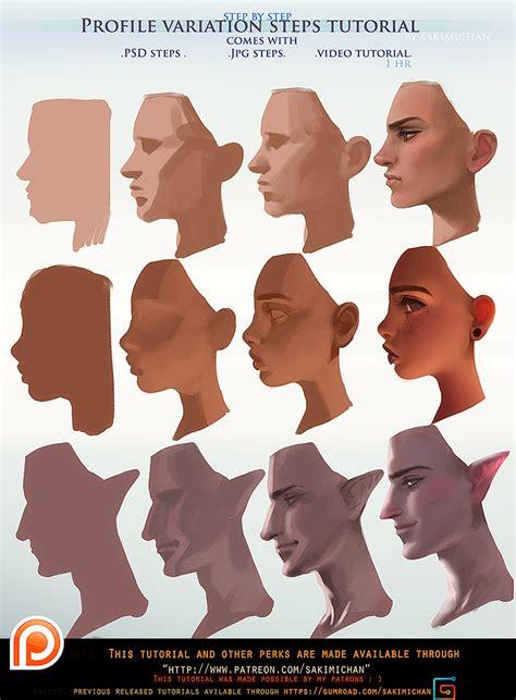 tutorial video digital profile variation steps tutorial pack promo by