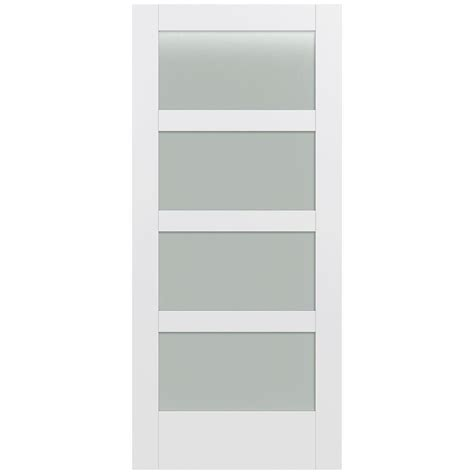 glass interior doors home depot jeld wen 36 in x 80 in moda primed pmt1044 solid core