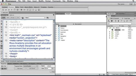 tutorial dreamweaver cc how to link to named anchors in dreamweaver cc