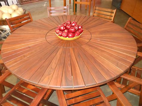 round table with lazy susan wood lazy susans for tables home design ideas and pictures