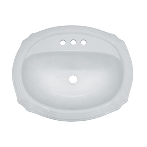 porcelain bathroom sinks porcelain ceramic vanity drop in bathroom vessel sink 22 15 16 x 19 3 8 x 6 3 4 inch