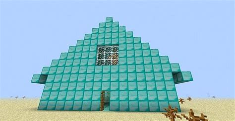 house of diamonds diamond house perfect for city maps minecraft project