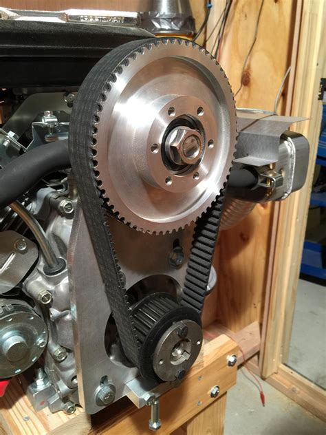 airboat gear reduction drive belt reduction drive for industrial air cooled engines and