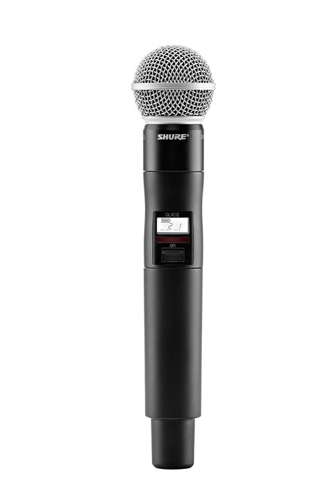 Amazon.com: Shure QLXD24/SM58 Handheld Wireless System