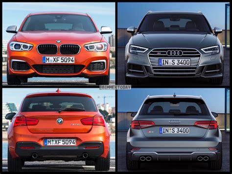Bmw 1er Facelift Vergleich by Photo Comparison Audi A3 Facelift Vs Bmw 1 Series Lci