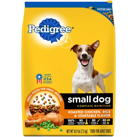 pedigree small dog complete nutrition adult dry dog food