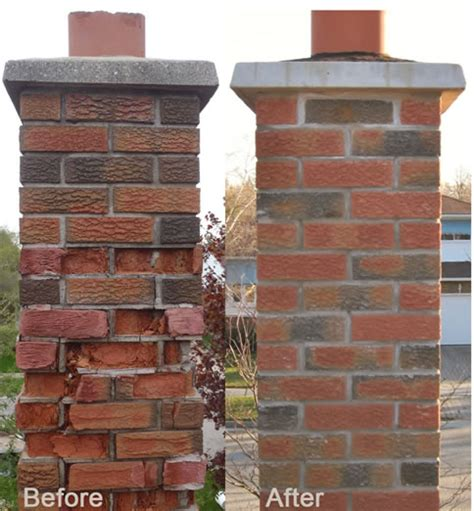 Repointing A Fireplace aaa chimney repair l brick repair fireplace restoration