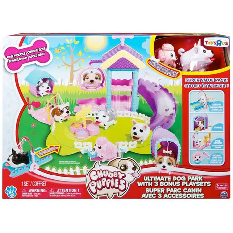puppies playset ultimate park with 3 bonus playsets toys r us