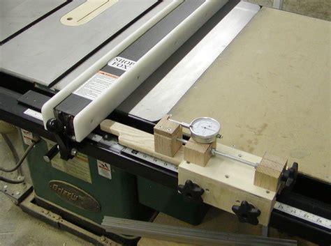 micro adjust table saw fence adjuster