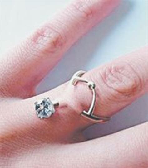 non conventional wedding rings the tribune