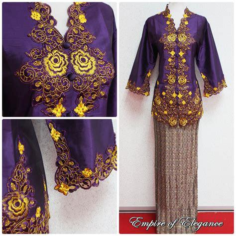 Kebaya Avantie Songket Skirt 310 xxxl size kebaya empire of elegance