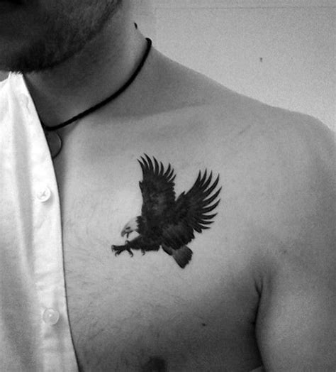 small tattoos on chest small bald eagle chest tattoos tatuajes