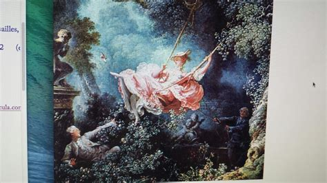 fragonard the swing 1766 history at clark college studyblue
