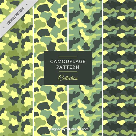 army pattern free vector green military patterns vector free download