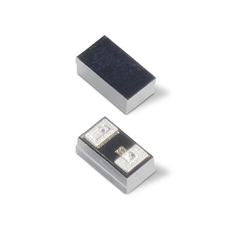 unidirectional tvs diode littelfuse introduces industry unidirectional esd protection in a 01005 flip chip