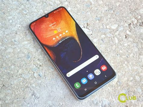 Samsung Galaxy A50 Nfc by Samsung Galaxy A50 Review Beste Mid Range Galaxy Tot Nu Toe
