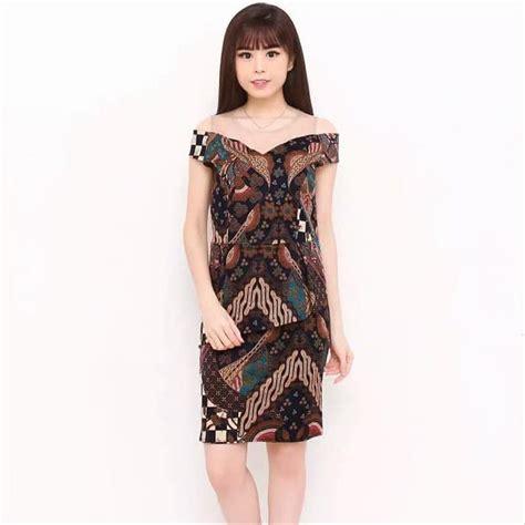 jual ready stock dress batik modern  jc   lapak