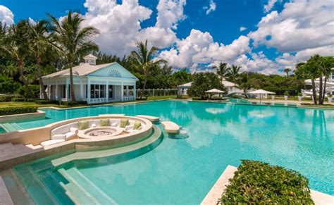 celine dions bahamian inspired luxurious florida estate