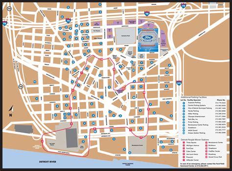 Detroit People Mover Map | detroit people mover map http mapsof net uploads static