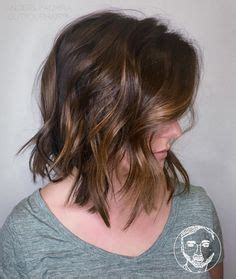 blunt end bob with subtle layers short modified bob with subtle bangs and blunt ends is so