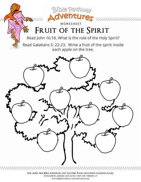 printable children s bible activities free bible worksheet fruit of the spirit free bible