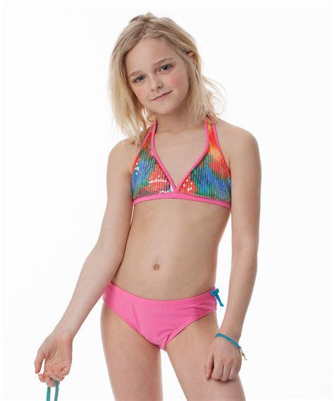 zulily little girls swimwear littlemissmatched pink blue marble bikini girls zulily