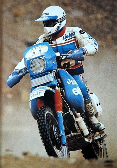 Classic Enduro Motorräder by Giaolo Marinoni Cagiva Ligier Dakar Rally 1985