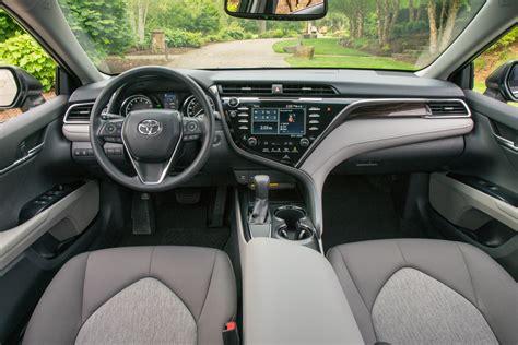 interior camry 2018 2018 toyota camry prices and fuel economy more money