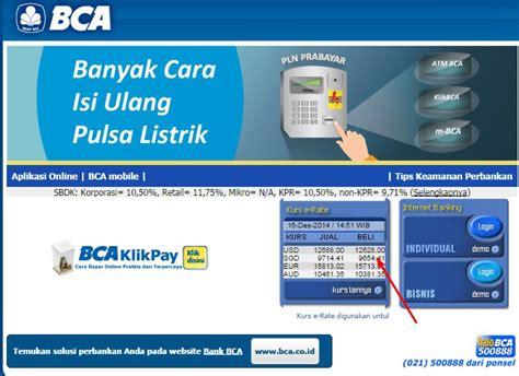 bca usd kurs info kurs valas kurs valuta asing kurs mata uang asing