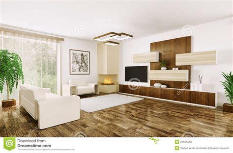 interni salone interno salone moderno 3d illustrazione di stock