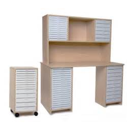 scrapbooking desk and storage craft room desk with hutch kit l and single kit c maple