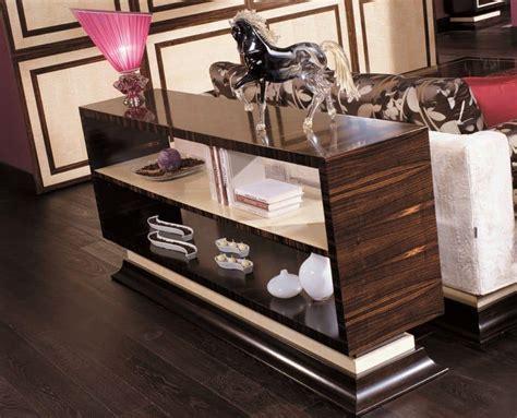 mobili ebano consolle in ebano makassar e acero bianco ideale per