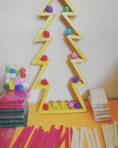 Membuat Hiasan Natal Dari Stik Es Krim | gambar rumah dari stik ice cream rumamu di